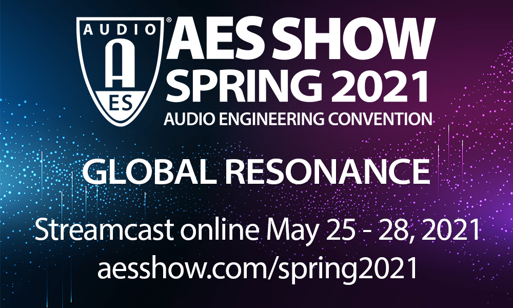 AES Show Spring 2021 | May 25 – 28
