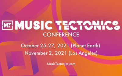 Music Tectonics Conference   Oct. 25 – 27