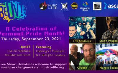 Celebration of Vermont Pride Month | Sept. 23